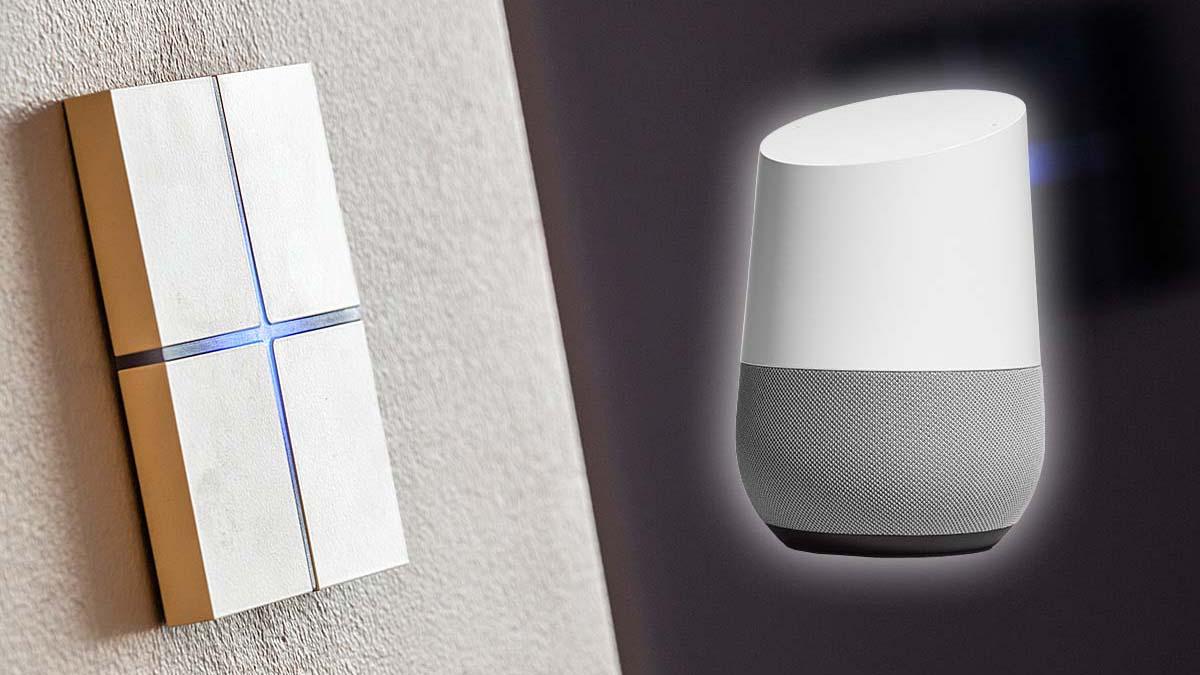 Google Home bedienen met KNX