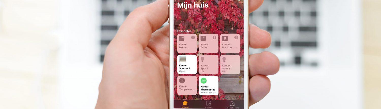iPhone 7 Homekit bedienen