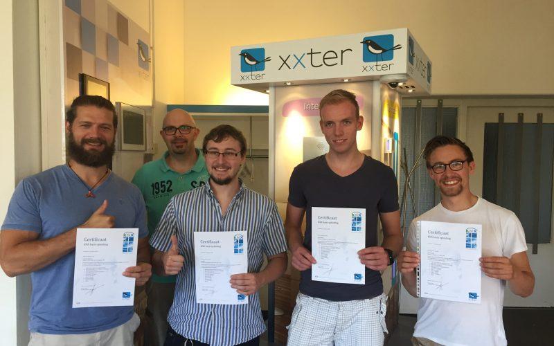 Eerste KNX basis opleiding